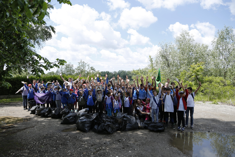 WWF и скаутите почистиха Дунав и други ключови реки в България