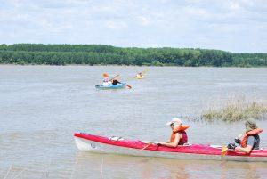 dsc 1350 300x201 - С велосипеди, каяци и бягане любители на спорта и природата отбелязаха Деня на Дунав